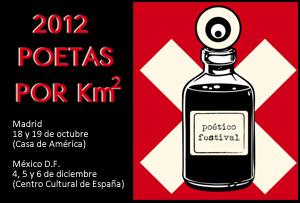 2012 Poetas por km². Poético Festival. Madrid