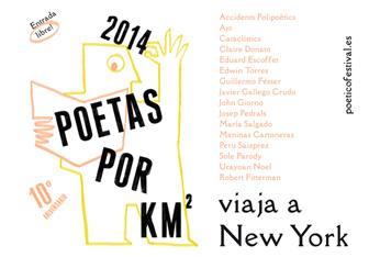 2014 Poetas por km². Poético Festival. Nueva York