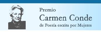 """XXXV Premio """"Carmen Conde"""" de Poesía escrita por Mujeres, 2018"""