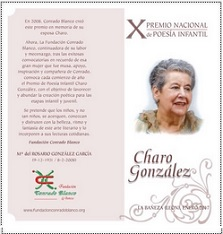 X Premio Nacional de Poesía Infantil Charo González, 2017