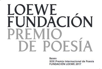 XXX Premio Internacional de Poesía Fundación Loewe, 2017