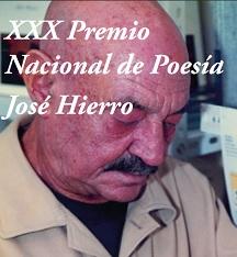 XXX Premio Nacional de Poesía José Hierro, 2019