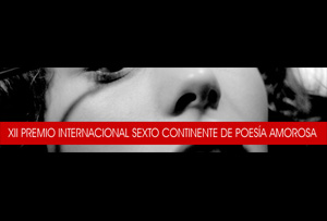 XII Premio Internacional 'Sexto Continente' de Poesía Amorosa, 2012