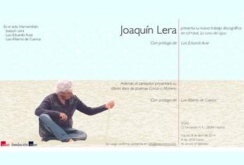 Joaquín Lera presenta su poemario
