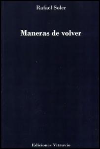 El poeta Rafael Soler hará una lectura de su obra poética publicada e inédita