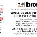 """Presentación de """"Voyage. Un viaje por tu alma"""" en el Carmen de la Victoria, Granada"""