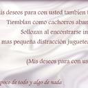 mis sueños para con usted (pt II)